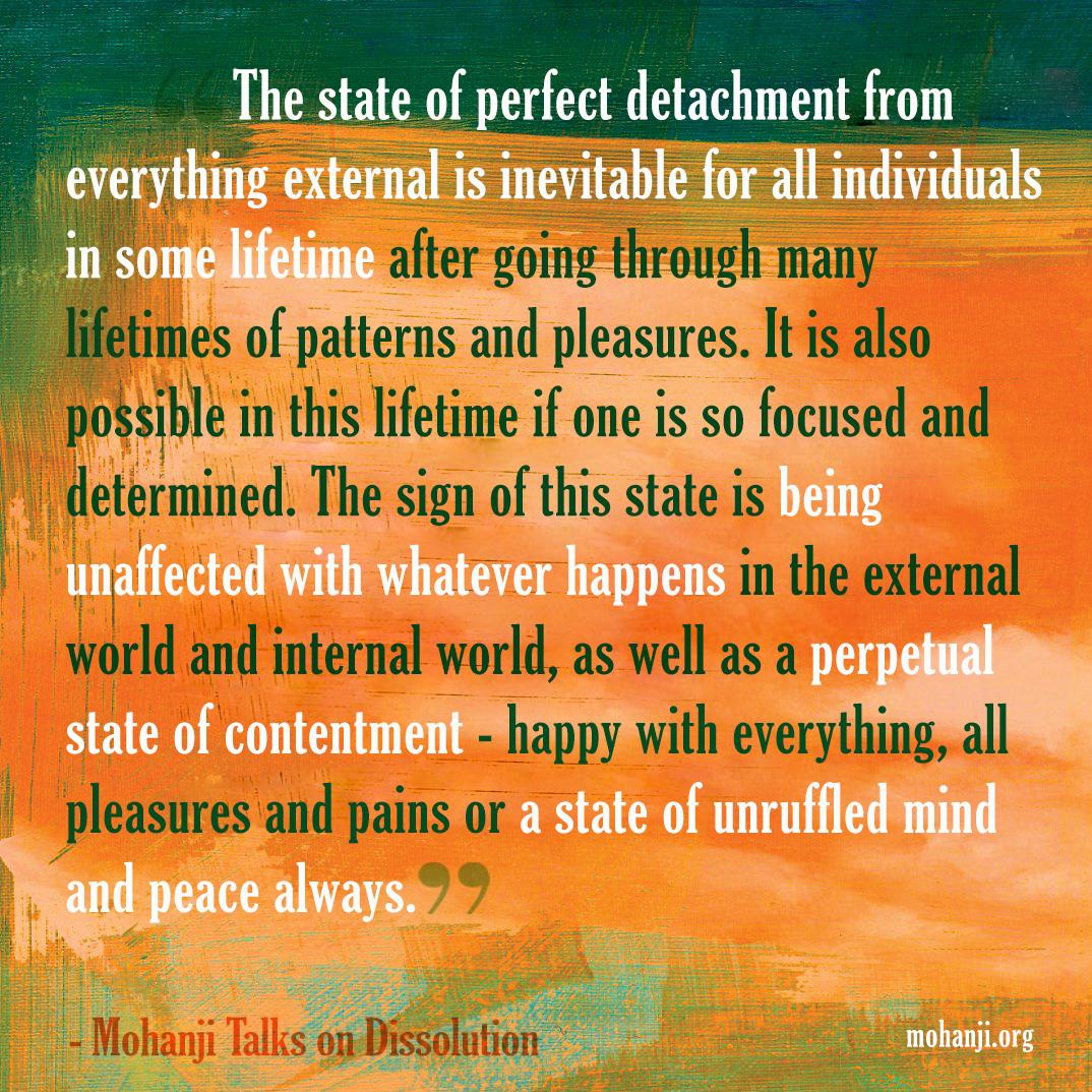 Mohanji quote - Dissolution 4
