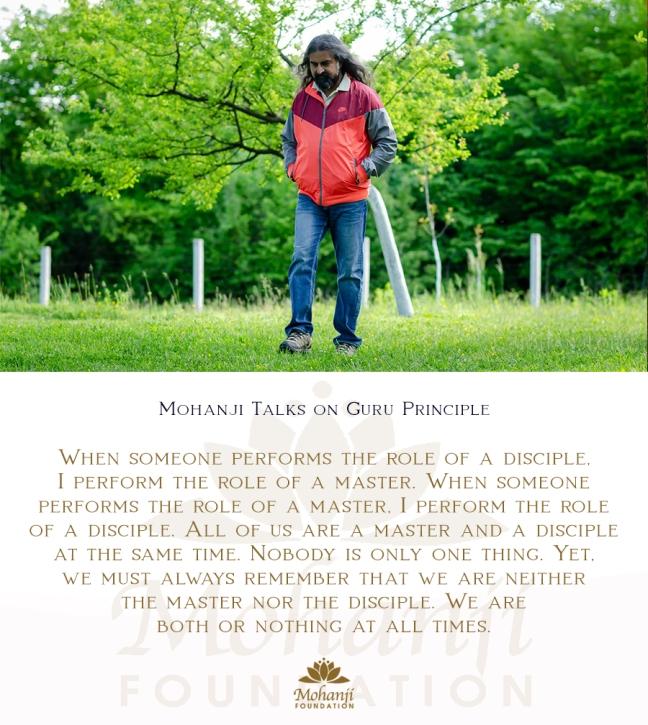 Mohanji quote - Guru principle