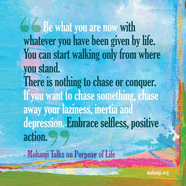 Mohanji quote - Purpose of life