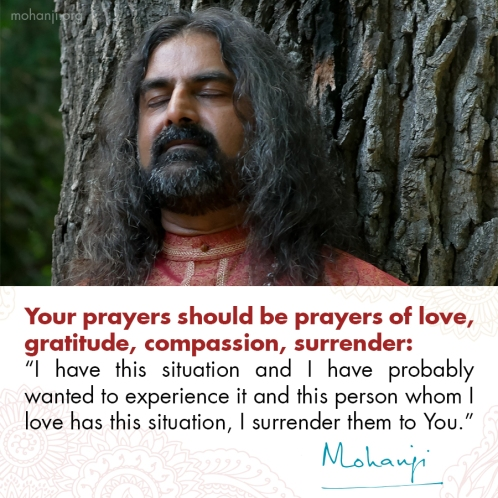 Mohanji quote - Prayer