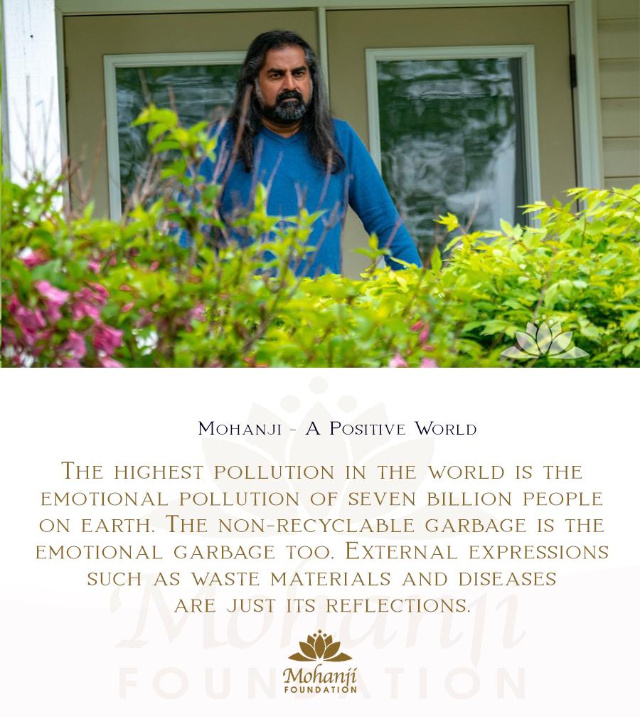 Mohanji quote - Positive world