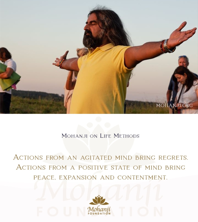 Mohanji quote - Life methods 2