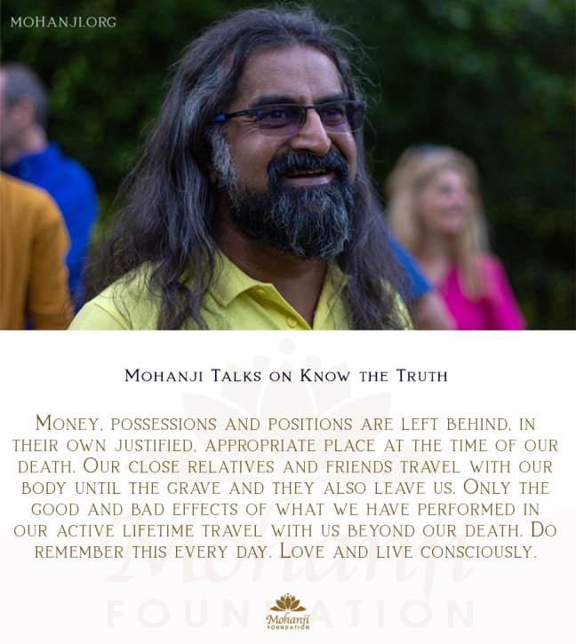 Mohanji quote - Truth 9 (Know the truth)