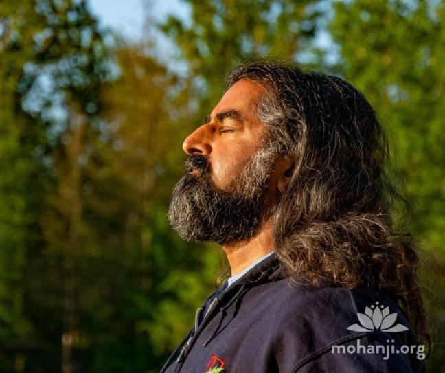 Mohanji meditate
