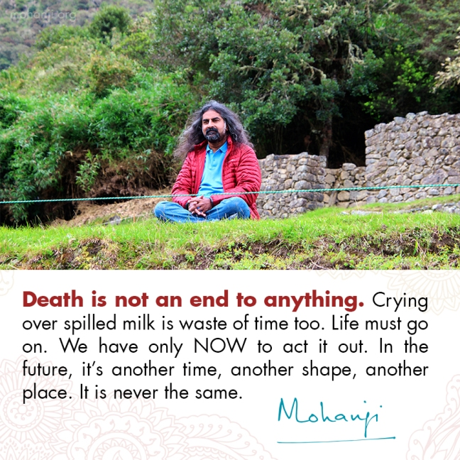 Mohanji quote - Death