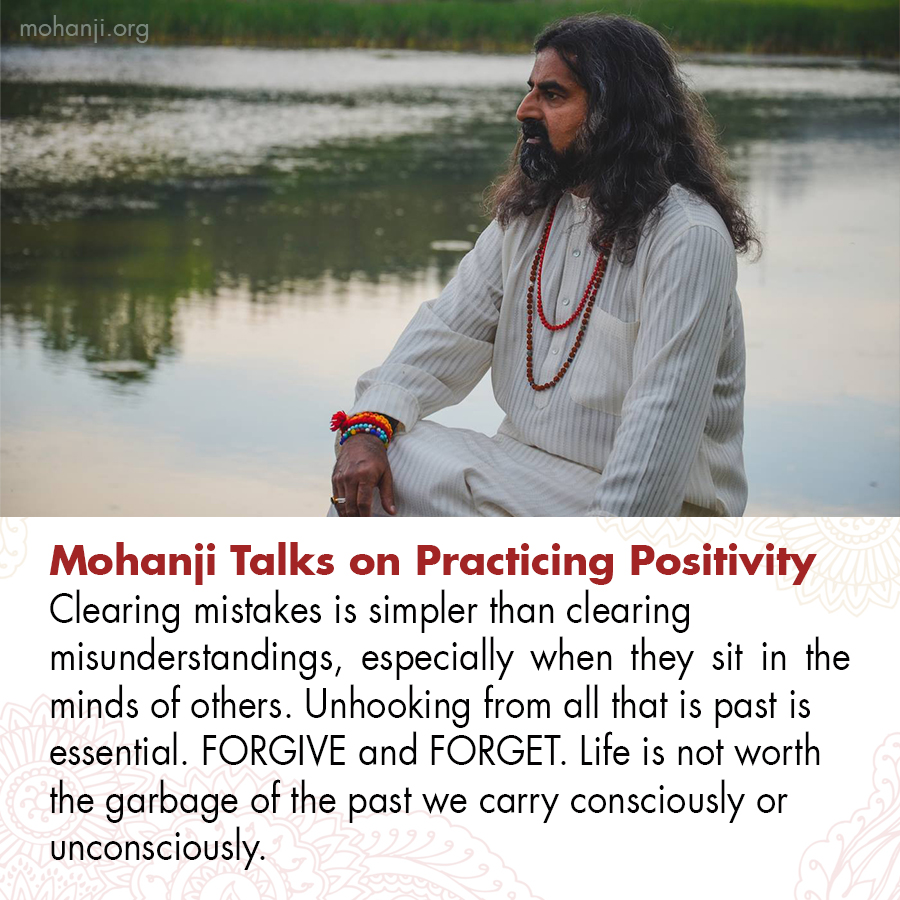 Mohanji quote - Practicing Positivity 21