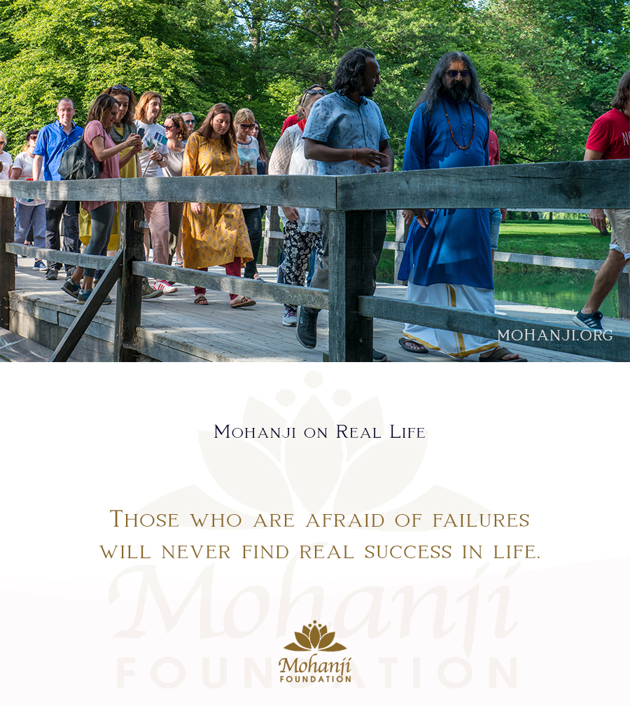 Mohanji quote - Real life