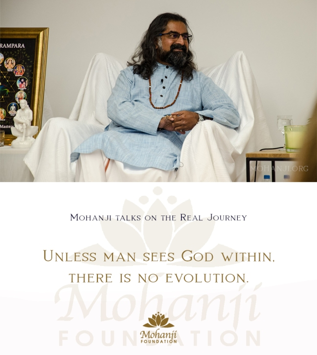 Mohanji quote - The real journey