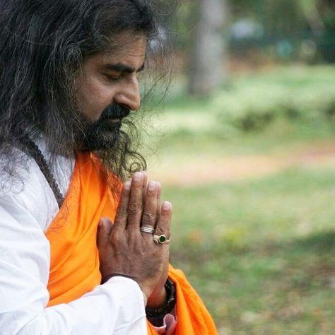 mohanji praying