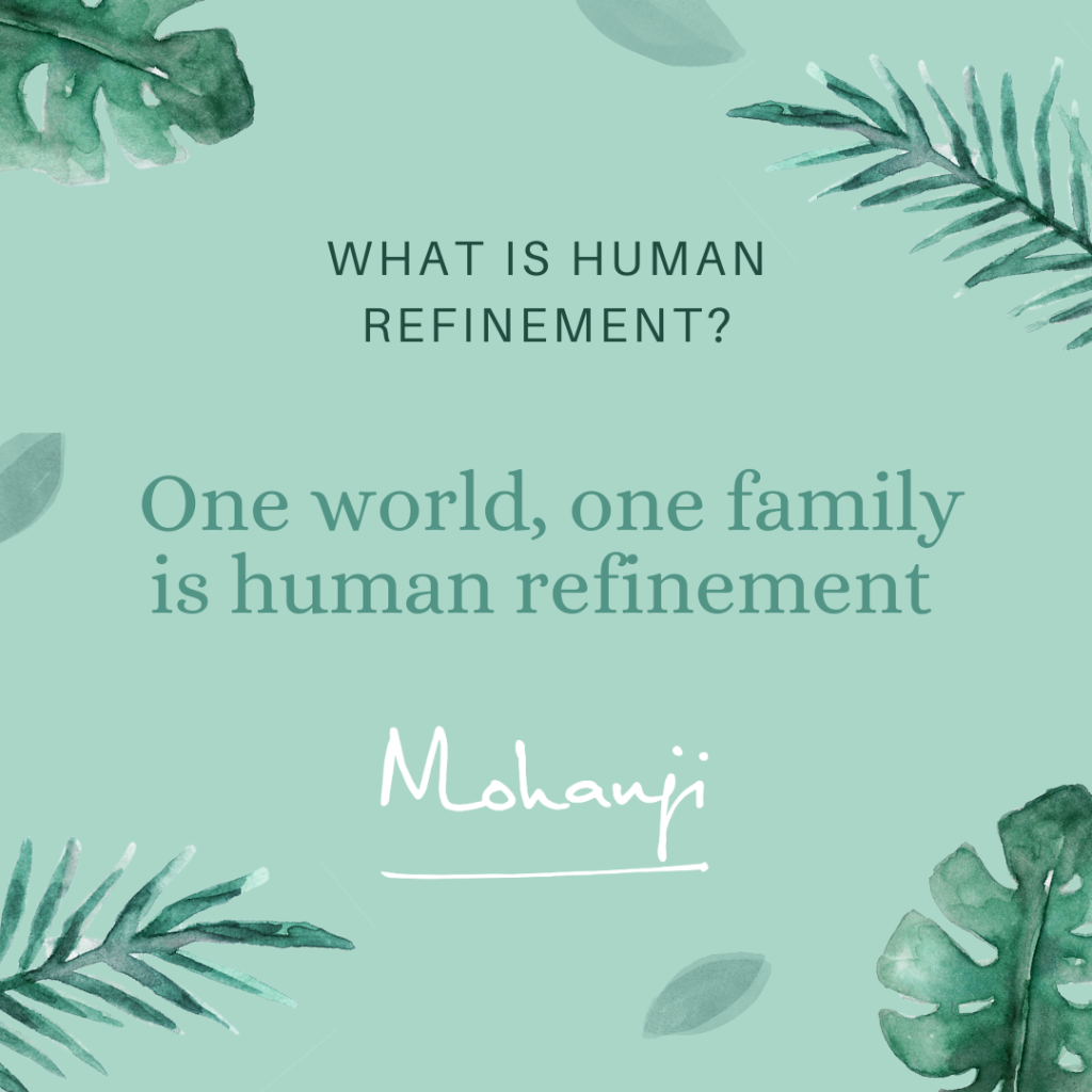 MS Podcast - human refinement - one world one family